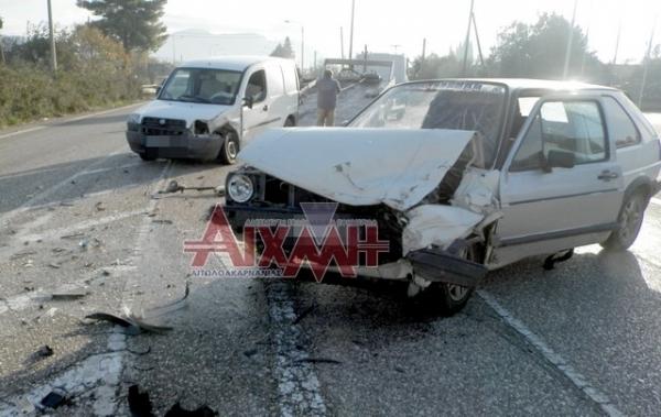 Δυο τροχαία ατυχήματα με το καλημέρα…