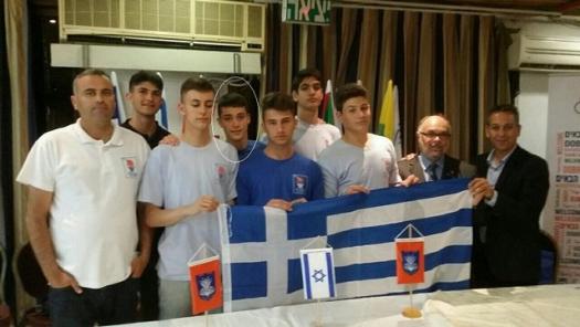 Χρυσό μετάλλιο για τον νεαρό Μεσολογγίτη Γιώργο Αλαφοδήμο στο Τελ Αβίβ