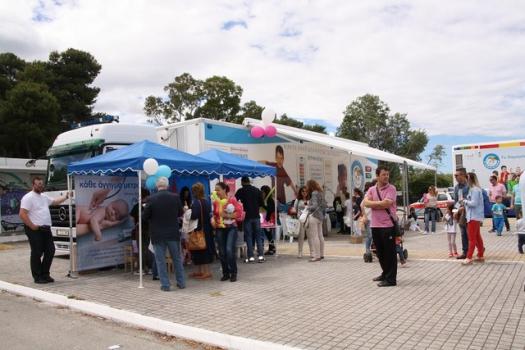 Εκατοντάδες παιδιά επισκέφθηκαν τη Γιορτή του «Χαμόγελου» στην Πάτρα