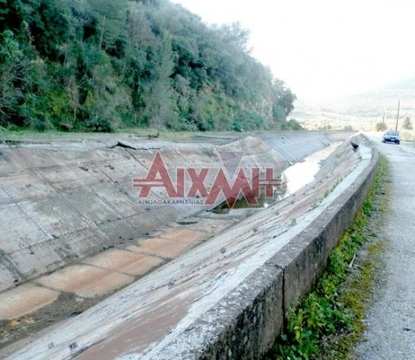 Η Περιφέρεια προσπαθεί με μπαλώματα να διορθώσει το πρόβλημα της Διώρυγας αντί να δημοπρατήσει κανονικό έργο αποκατάστασης