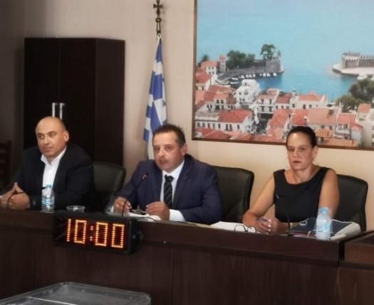 Πρόεδρος του Δημοτικού Συμβουλίου Ναυπακτίας ο Γ. Σιμάκης