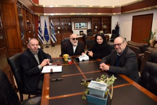 Συνάντηση Κουρουμπλή με Τ. Λουκόπουλο & στελέχη της ΔΕΥΑΝ