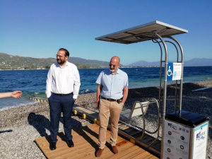 Ν. Φαρμάκης: «Η πρόσβαση των ΑμεΑ στη θαλάσσια απόλαυση δεν είναι προνόμιο, είναι ανάγκη»