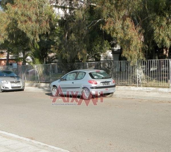 Το αυτοκίνητο που στεγάζει προσωρινά δύο συμπολίτες μας!