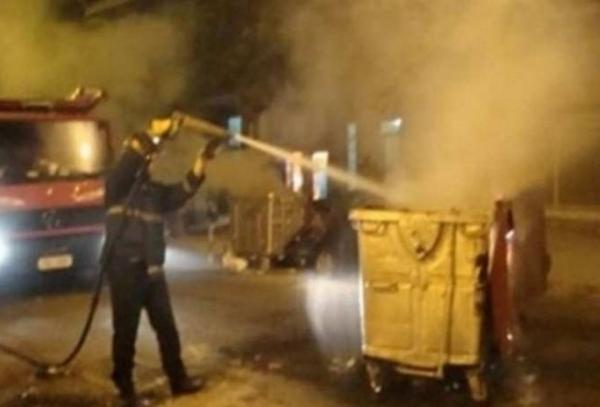 Συνελήφθησαν οι δράστες των εμπρησμών σε κάδους απορριμμάτων στη Πάτρα