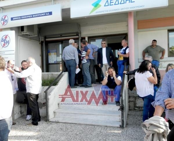 Ο δήμος κατέλαβε τη ΔΕΗ για τις διακοπές στα αντλιοστάσια